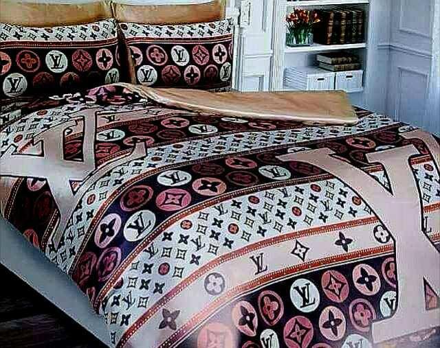 Луксозен спален комплект LOUIS VUITTON