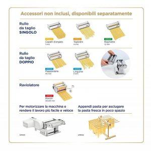 Професионален комплект за приготвяне на прясна италианска паста Laica