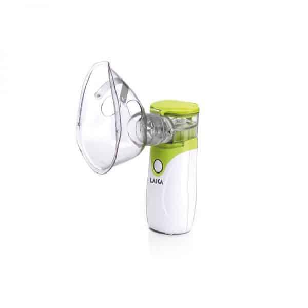 Промо пакет Преносим ултразвуков инхалатор Laica NE1005 с адаптер
