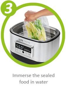 Как работи Домашен уред за нискотемпературно готвене - Уред за готвене на водна баня Sous Vide Laica SVC200