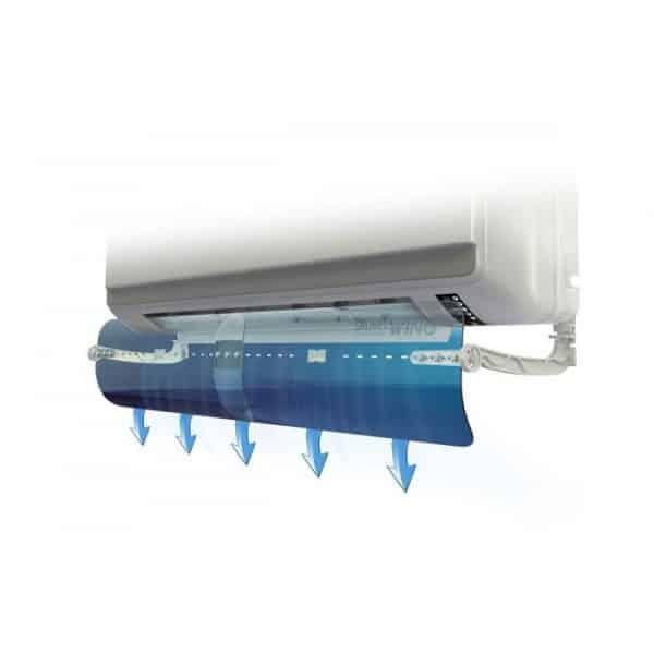 Дефлектор SmartWing за насочване на въздушния поток на климатиците