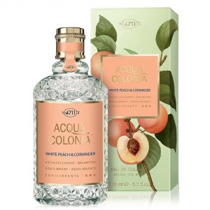 4711 Acqua Colonia White Peach & Coriander Унисекс парфюм EDC на супер цена от parfium.bg