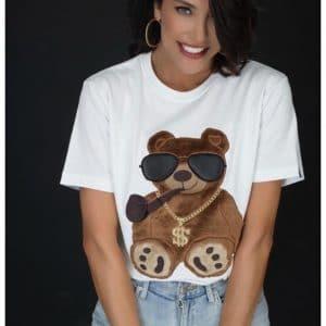 Тениска бяла BEAR