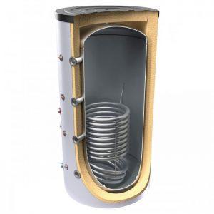 Буферен съд TESY V 15 S 2000 130 F46 P5 C за отоплителни инсталации с една серпентина