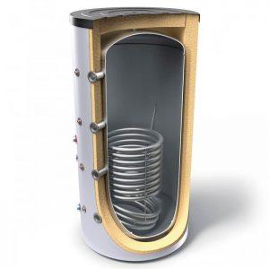 Буферен съд TESY V 9S 200 60 F40 P4  за отоплителни инсталации със серпентина