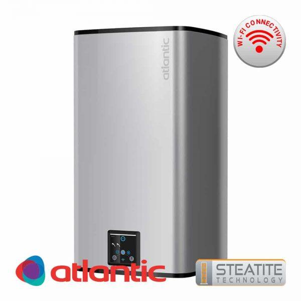 Електрически бойлер Atlantic CUBE Silver Steatite Wi-Fi